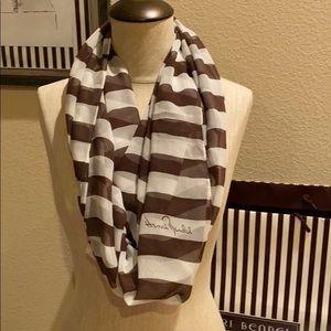 Henri Bendel silk unity scarf